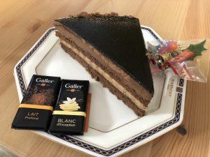ガレーのチョコレートケーキ